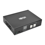 Tripp Lite HDMI Audio/Video with RS-232 Serial and IR Control over IP Receiver, 1920 x 1080 (1080p) @ 60 Hz, 100 m