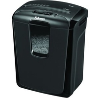 Fellowes Powershred M-8C paper shredder Cross shredding 23 cm Black