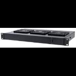 "Intellinet 3-Fan Ventilation Unit for 19"" Racks, 1U, Black"