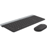 LOGITECH Slim Wireless Keyboard and Mouse Combo MK470 Black