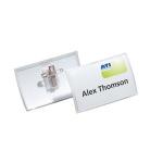 Durable 8214-19 Polypropylene (PP) 25pc(s) badge/badge holder