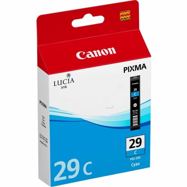 Canon 4873B001 (PGI-29 C) Ink cartridge cyan, 1.94K pages, 36ml