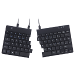 R-Go Tools R-Go Split Break Ergonomic Keyboard, QWERTZ (DE), black, wired