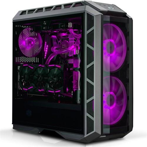 Cooler Master MasterCase H500P Midi-Tower Black,Metallic