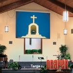 "Draper Targa projection screen 3.38 m (133"") 16:9"