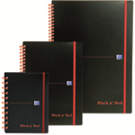 Black n' Red BLKNRED WBND ELASTICATED NBK A4 PP 140P