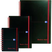 Black n' Red BLKNRED WBND ELASTICATED NBK A4 PP140P