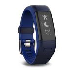 Garmin vívosmart HR+ Wristband activity tracker Black,Blue OLED