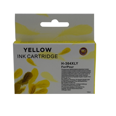 TARGET 364 XL HP Compatible Yellow Replacement Ink