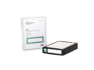 Hewlett Packard Enterprise RDX 3TB Removable Disk Cartridge 3000 GB