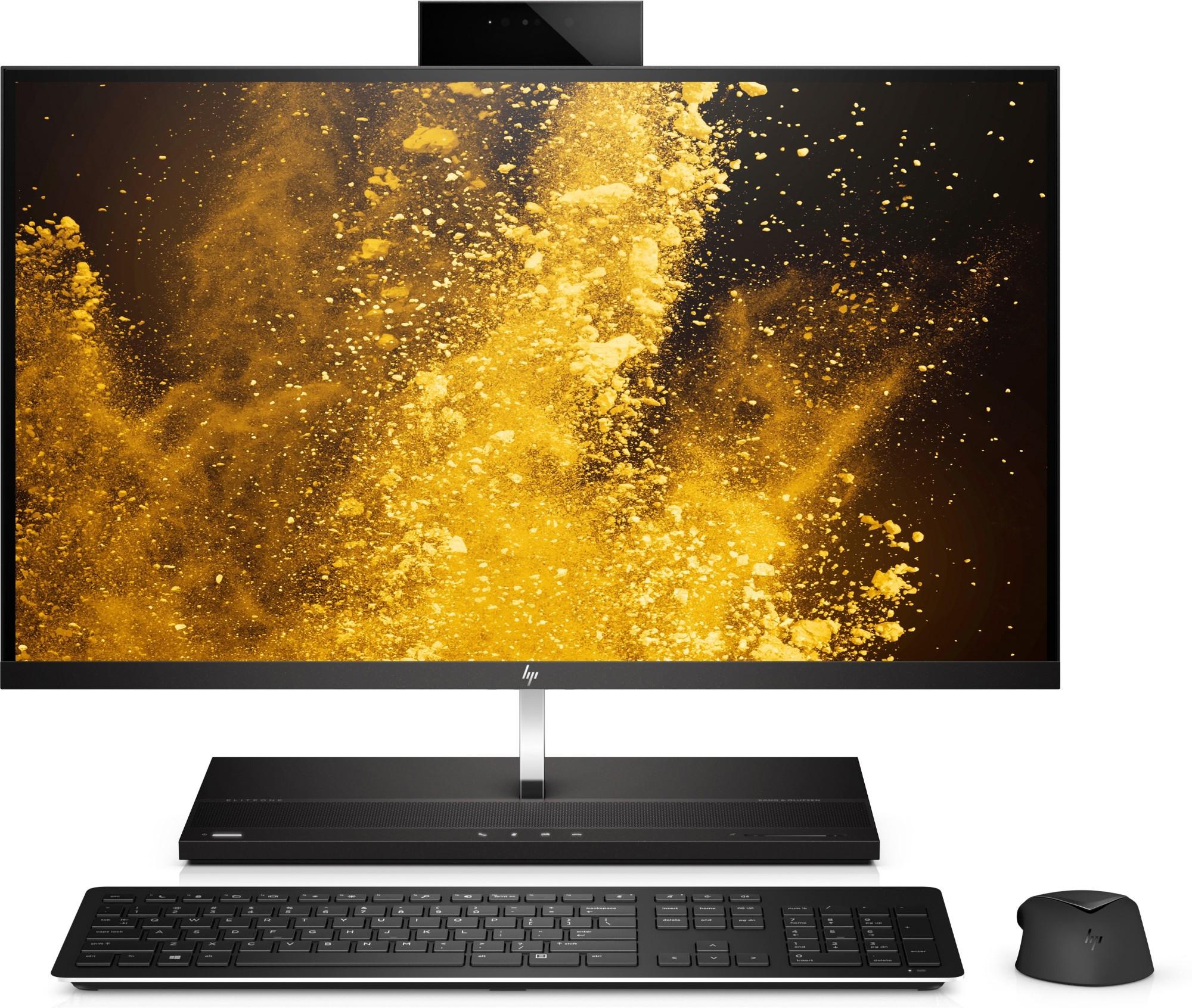 """HP EliteOne 1000 G2 68.6 cm (27"""") 3840 x 2160 pixels 8th gen Intel® Core™ i7 i7-8700 16 GB DDR4-SDRAM 256 GB SSD Black All-in-One PC"""