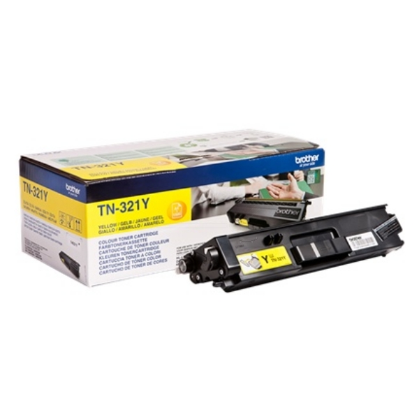 Brother TN-321Y Toner yellow, 1.5K pages