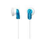 Sony MDR-E9LP Intraaural Dentro de oído Azul, Color blanco