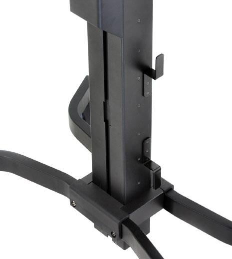 Ergotron WorkFit-PD Cable Management Box desk drawer organizer Black