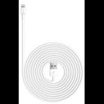 """Kanex 2m Lightning-USB 78.7"""" (2 m) White"""