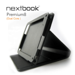 Nextbook 7' Tablet Stand Folio Stylish/Durable/Soft Interior
