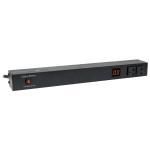 CyberPower PDU20M2F12R power distribution unit (PDU) 1U Black 14 AC outlet(s)