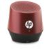 HP S6000 Red Portable Mini Bluetooth Speaker