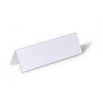 Durable 805219 Transparent non-metallic nameplate