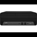 HP ProDesk 600 G6 10th gen Intel® Core™ i5 i5-10500 8 GB DDR4-SDRAM 256 GB SSD SFF Black PC Windows 10 Pro