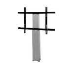 "Newstar PLASMA-W2250SILVER 100"" Silver flat panel wall mount"