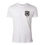 Marvel Guardians of the Galaxy Vol. 2 Men's Rocket T-Shirt, Medium, White (TS571020GOG-M)