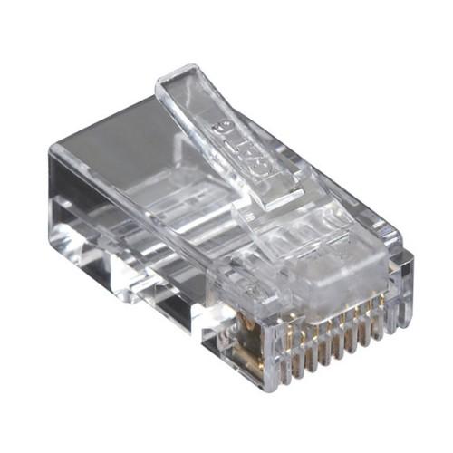 Black Box 100x Value Line Cat6 wire connector Transparent