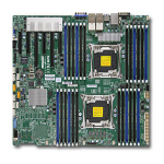 Supermicro X10DRi-T4+ Intel C612 LGA 2011 (Socket R) Extended ATX server/workstation motherboard
