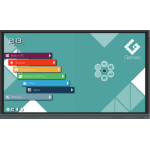 "Genee TOU090020 interactive whiteboard 190.5 cm (75"") Touchscreen 3840 x 2160 pixels Black"