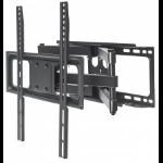 "Manhattan Monitor/TV Wall Mount, Full Motion (3 pivots & tiltable), 1 screen, 32-55"", Vesa 100x100 to 400x400mm, Max 40kg, Black, Box"