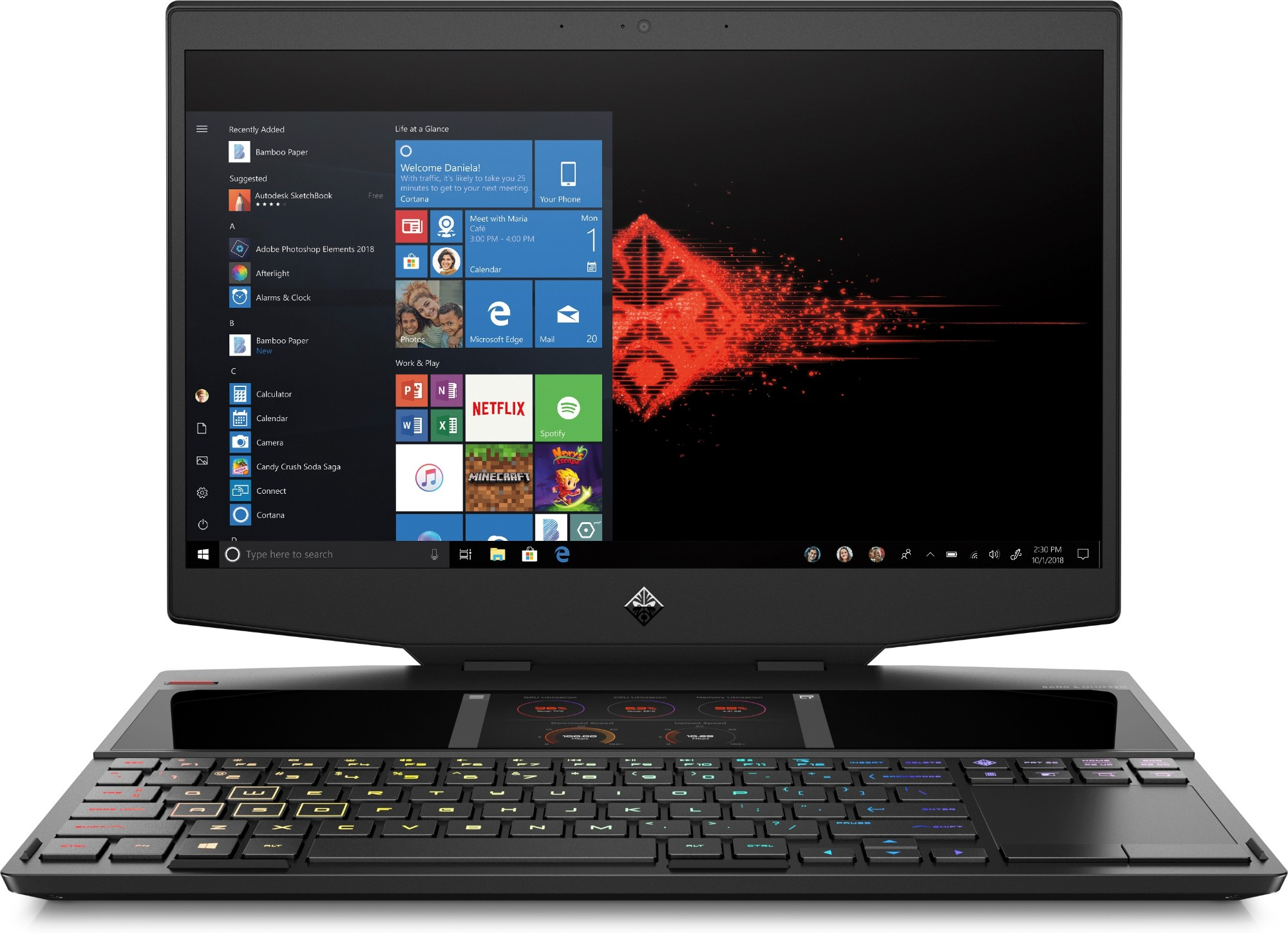 OMEN X by HP 15-dg0001na - 15.6in - i7 9750H - 16GB RAM - 512GB SSD - Win10 Home