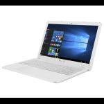 "ASUS VivoBook X540SA-XX195T 1.6GHz N3050 15.6"" 1366 x 768pixels White notebook"