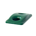 Rubbermaid Slim Jim 2692-88 trash can accessory Lid Green