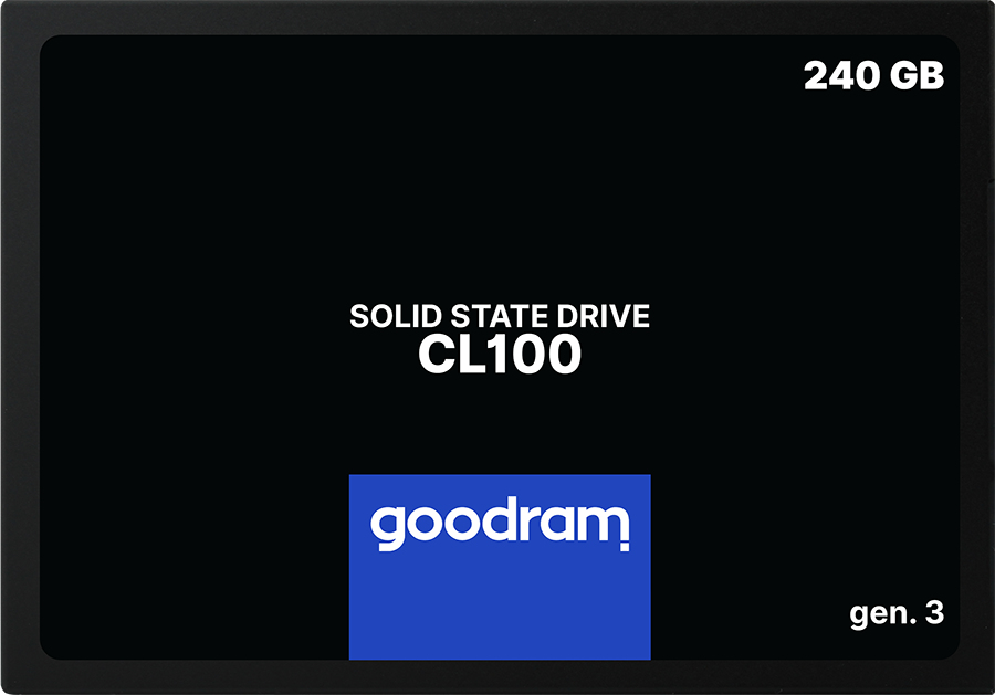 SSD GOODRAM CL100 Gen. 3 240GB SATA III 25 RETAIL