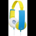 JVC HA-KD5-Y Yellow Circumaural Head-band headphone