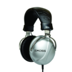 Koss TD85 Black,Silver Circumaural Head-band headphone