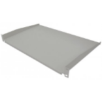 "Intellinet 19"" Cantilever Shelf, 1U, Shelf Depth 350mm, Non-Vented, Grey"