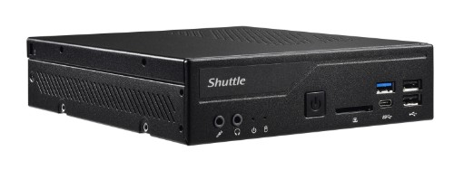 Shuttle XPС slim DH310S PC/workstation barebone 1.3L sized PC Black Intel® H310 LGA 1151 (Socket H4)