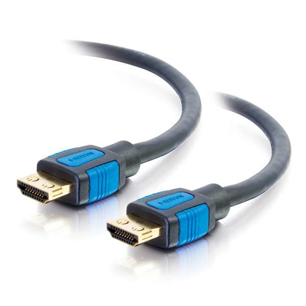 C2G 82377 HDMI cable 0.5 m HDMI Type A (Standard) Black,Blue