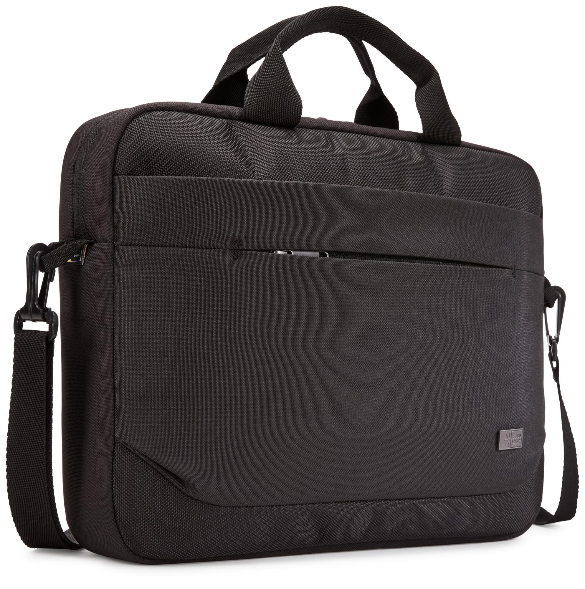 """Case Logic Advantage 14"""" Attaché notebook case 35.6 cm (14"""") Messenger case Black"""