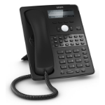Snom D725 IP phone Black Wired handset 12 lines