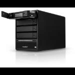 Rocstor Rocpro T24 disk array Tower Black