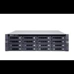 QNAP TS-h1683XU-RP E-2236 Ethernet LAN Rack (3U) Black NAS