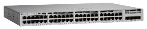 Cisco C9200L-48PXG-4X-E network switch Managed L2/L3 Gigabit Ethernet (10/100/1000) Gray Power over Ethernet (PoE)