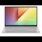 """ASUS VivoBook 14 X420UA-EK019T notebook Silver 35.6 cm (14"""") 1920 x 1080 pixels 7th gen Intel® Core™ i3 i3-7020U 4 GB LPDDR3-SDRAM 128 GB SSD"""