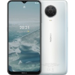 "Nokia G20 16.5 cm (6.5"") Dual SIM Android 11 USB Type-C 4 GB 64 GB 5050 mAh Silver 719901145861"