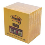 Post-It Super Stick Ultra Yellow (Pack 6) self-adhesive label
