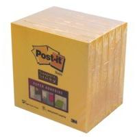 Post-It Super Stick Ultra Yellow (Pack 6) Yellow self-adhesive label