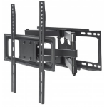 "Manhattan 461344 flat panel wall mount 139.7 cm (55"") Black"