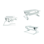 Newstar NS-WS100WHITE desktop sit-stand workplace